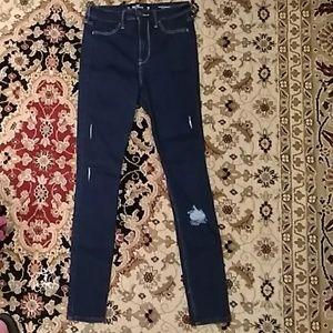 JUST IN📌Teens/womens Hollister jean leggings